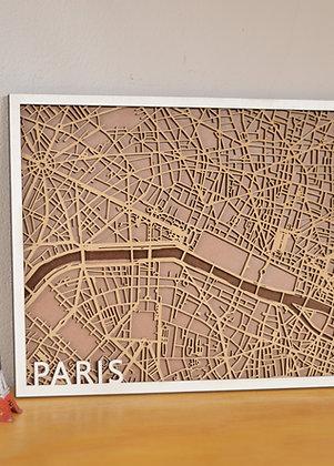 Mapa - Paris
