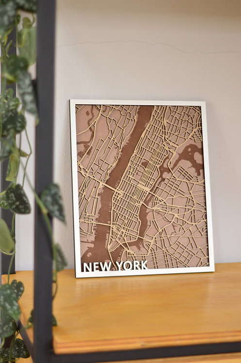 Mapa - Nova Iorque