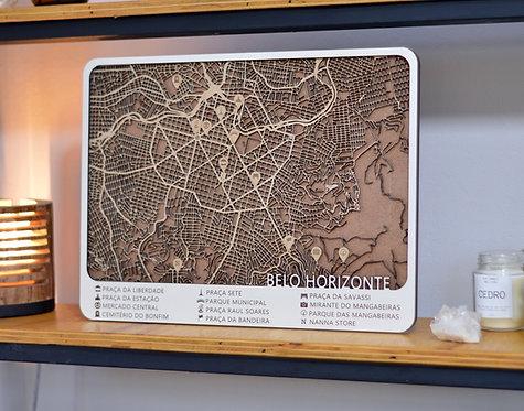 Mapa 54x33cm