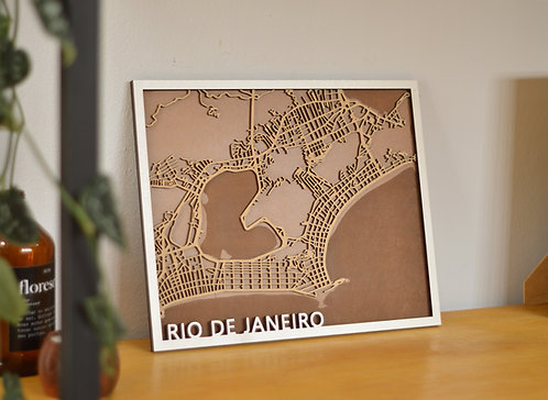 Mapa  - Rio de Janeiro
