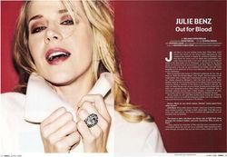 Julie Benz Venice Mgazine