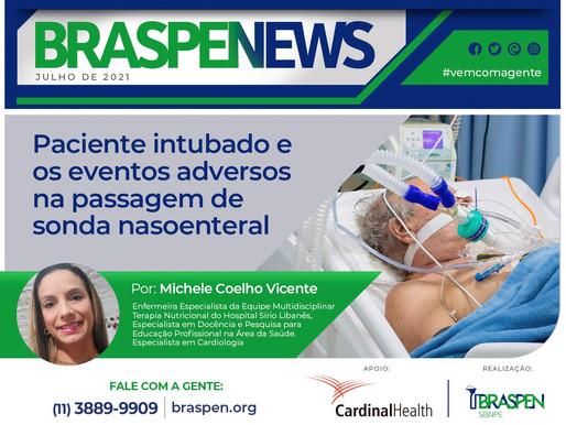 BRASPEN News: Paciente intubado e os eventos adversos na passagem da sonda nasoenteral