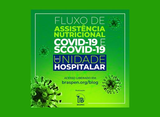 Fluxo de assistência nutricional para pacientes com COVD-19