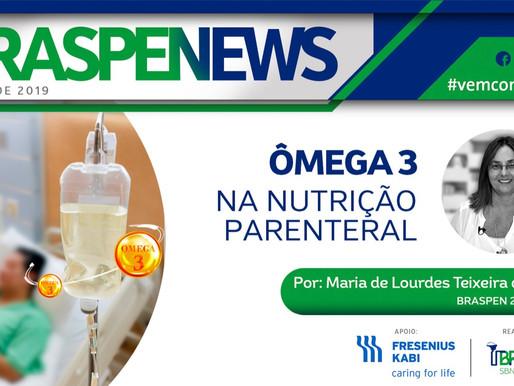 Ômega 3 na nutrição parenteral. Por: Maria de Lourdes Teixeira da Silva