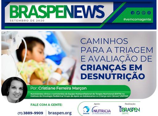 BRASPEN NEWS -Triagem e avaliação nutricional na criança com desnutrição