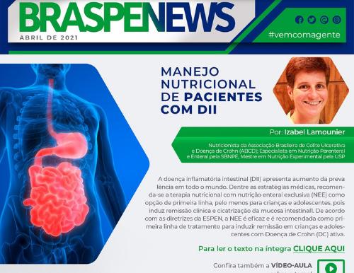 BRASPEN News - Manejo Nutricional de pacientes com DII
