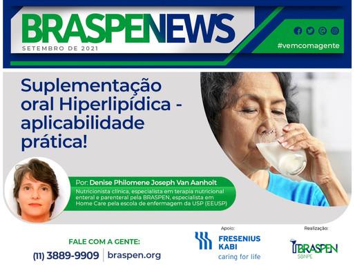 BRASPEN News: Suplementação Oral hiperlipídica - Aplicabilidade prática
