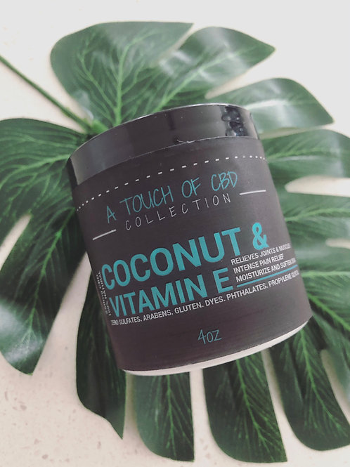 Coconut & Vitamin E Body Lotion