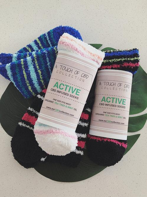 Women's ACTIVE CBD Infused Socks
