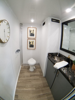 Trailer as shown in photo (wall decor may vary)