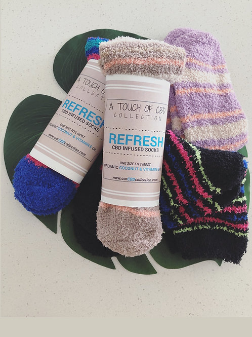 Women's REFRESH CBD Infused Socks