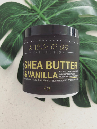 Shea Butter & Vanilla Body Lotion