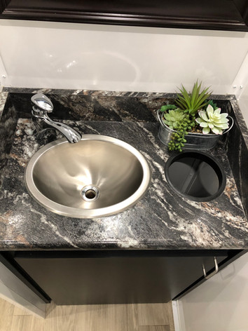 Luxury Portable 3-Stall Restroom