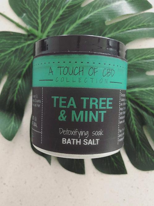 Tea Tree & Mint Bath Salt