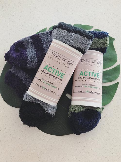 Men's ACTIVE CBD Infused Socks