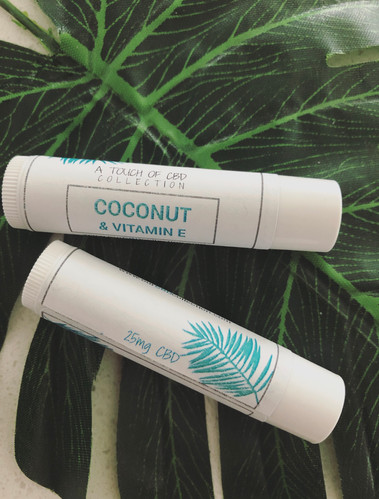 Coconut CBD Lip Balm