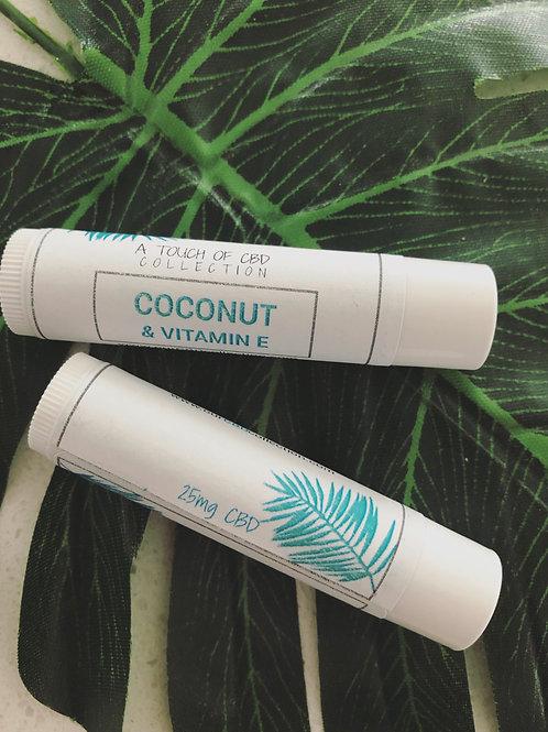 Coconut & Vitamin E Lip Balm