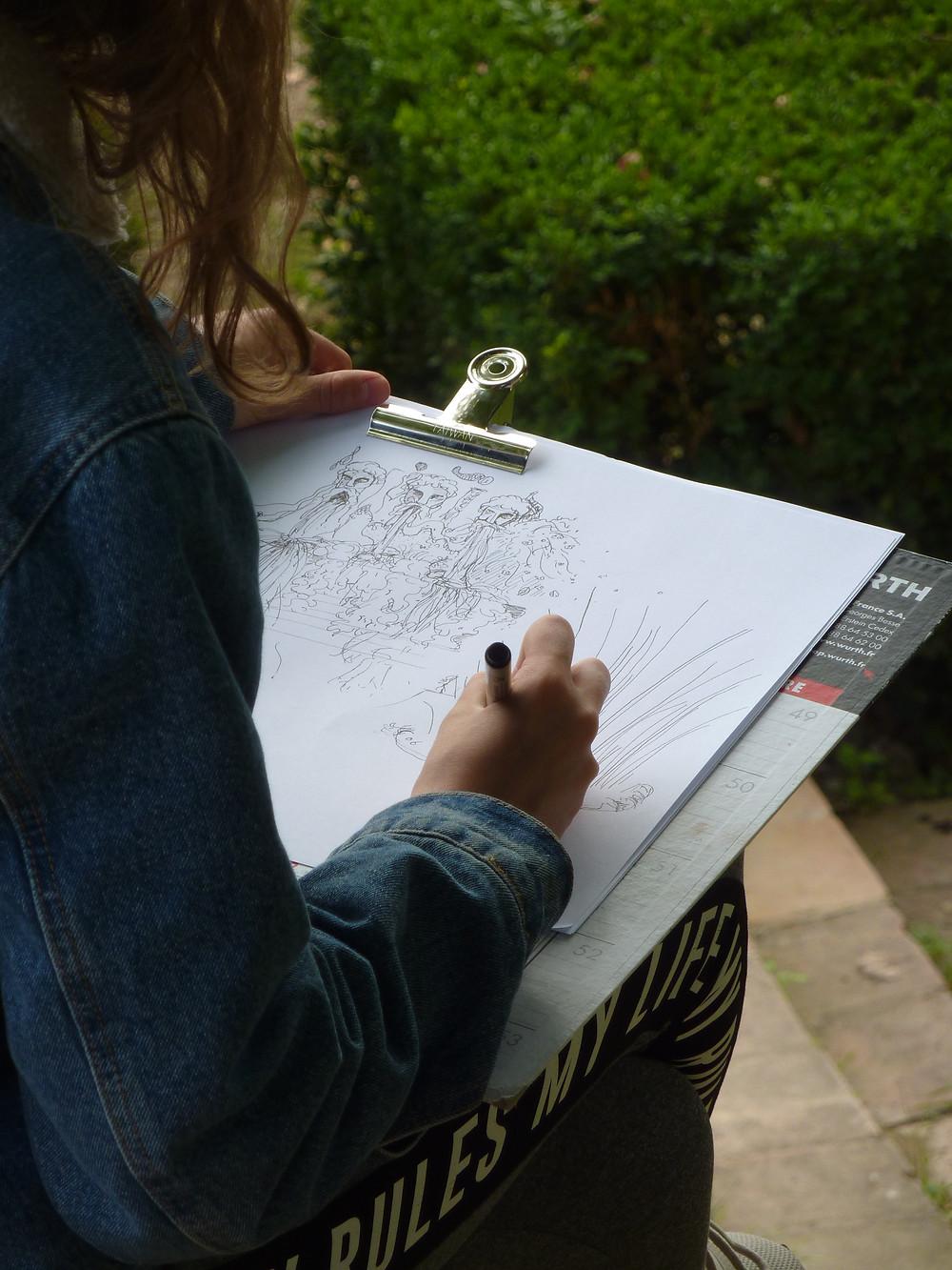Cours de dessin à Gaillac (Tarn)