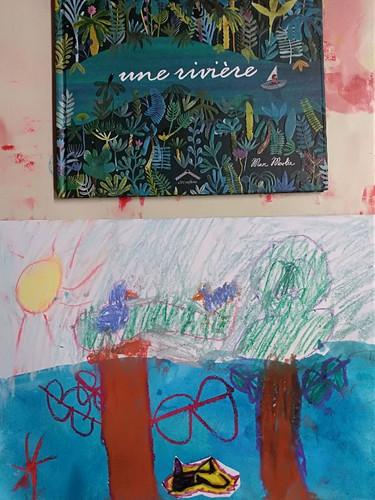 """Album """"Une rivière"""""""