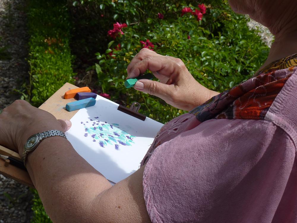 atelier de dessin à Gaillac