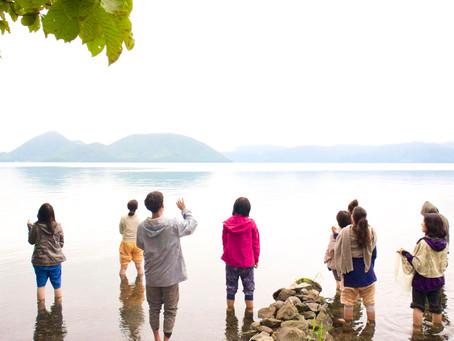 音と大地と水といのちと。みんなと繋がった洞爺湖ボイスワークリトリート🎶