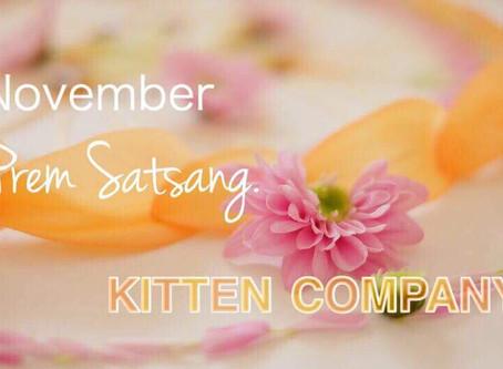 11/24 KYOTO Prem Satsang. 開催のお知らせ