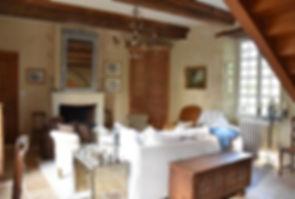 Salon réservé aux chambres d'hôtes
