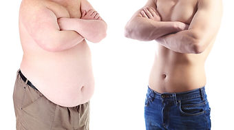 Health and fitness concept. Before and after weight loss by man..jpg