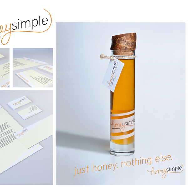 HomeSimple Logo, Stationary and Ad Design