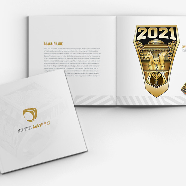 MIT Class of 2021 Ring Brochure