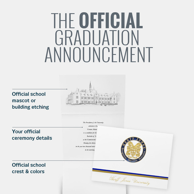 Herff Jones Graduation Announcement Email Design