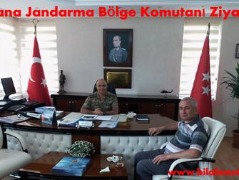 Adana Jandarma Bölge Komutanı Ziyareti
