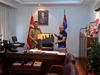 Kahta İlçe Jandarma Komutanlığına Ziyaret