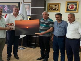 Kahta Gazeteciler Cemiyetinden Başkan Turanlı'ya Ziyaret