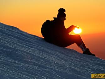 Nemrut Dağı'nda güneşin doğuşu