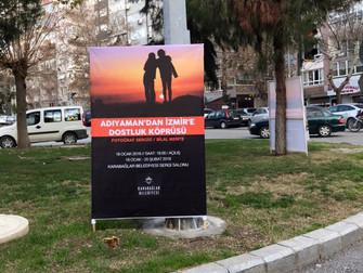 ADIYAMAN'DAN EGENİN İNCİSİ İZMİR'E FOTOĞRAF SERGİSİ AFİŞLERİ PANOLARA ASILMAYA BAŞLADI