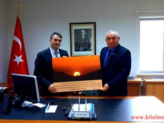 Osmaniye Vali Yardımcısına Makamında Ziyaret