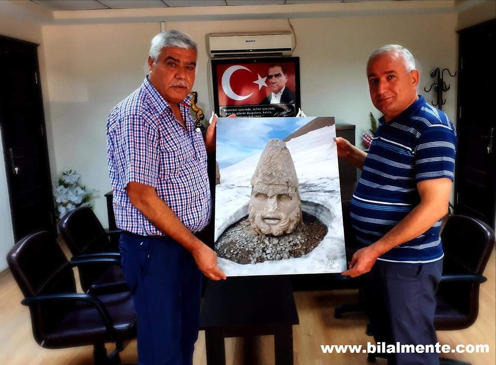 Kâhta Belediye Başkan Yardımcısı Sayın Mehmet IŞIK'ı Ziyaret