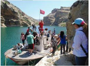 Fırat Nehri Ve Atatürk Barajı'nda Kanyon Keyfi