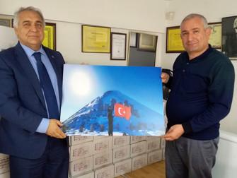 İzmir Büyük Şehir Belediyesi Ak Parti Meclis Grubu Başkanı Ziyaret