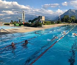 Schwimmkurs Strandbad Thun