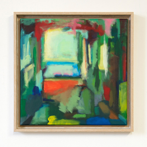 summer see through-painting-art-frame-wo