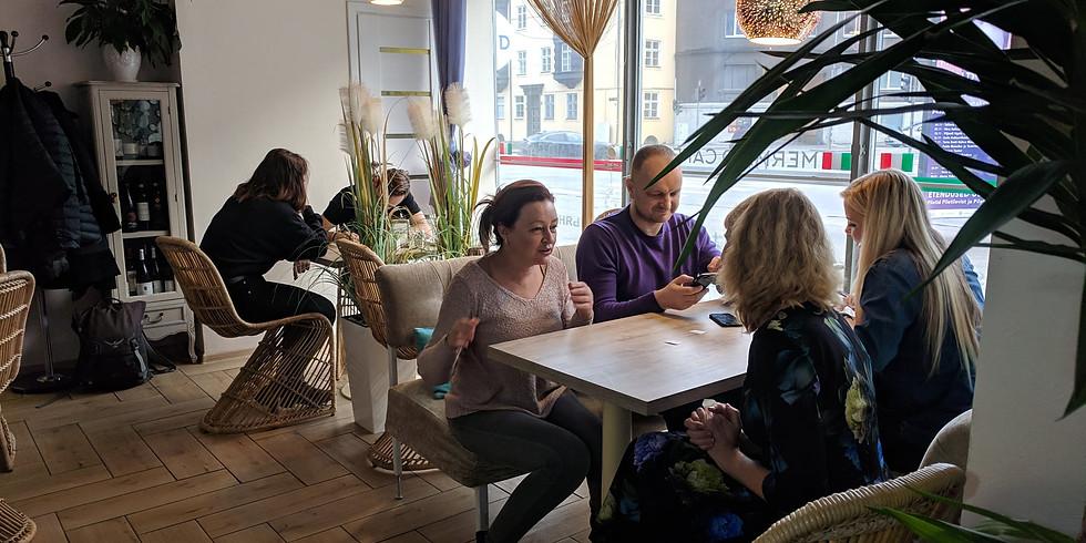 English Club in Tallinn - offline speaking sessions