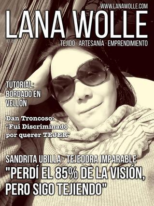 """""""Tejer sin ver"""" · Sandrita Ubilla  Tejedora Imparable · Entrevista"""