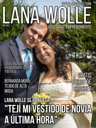 """""""Tejí mi Vestido de Novia a última hora"""" · Lana Wolle · Artículo"""