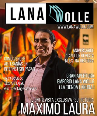 Máximo Laura Artista Textil Entrevista