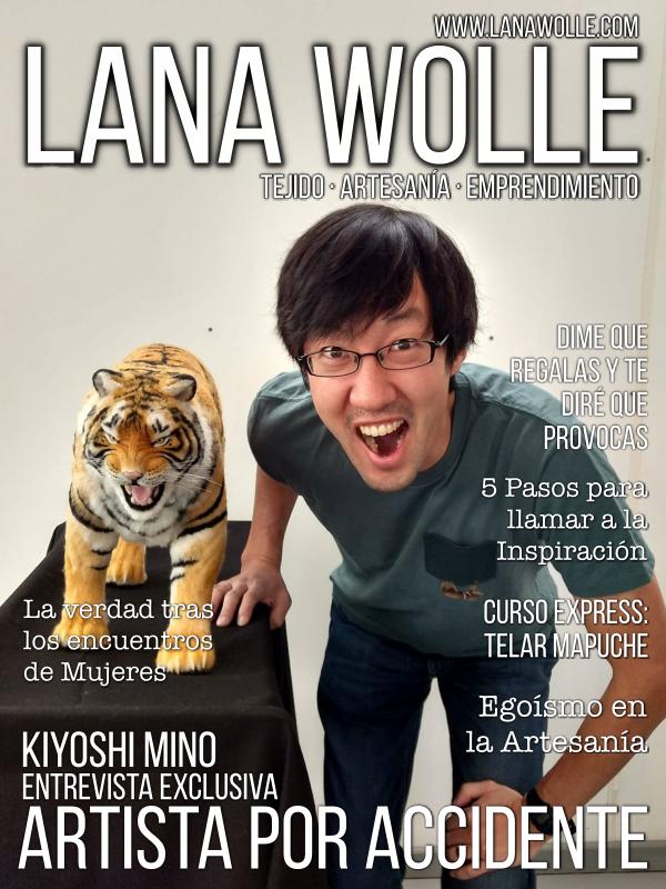 Kiyoshi Mino.  Artista en Fieltro. Revista Lana Wolle