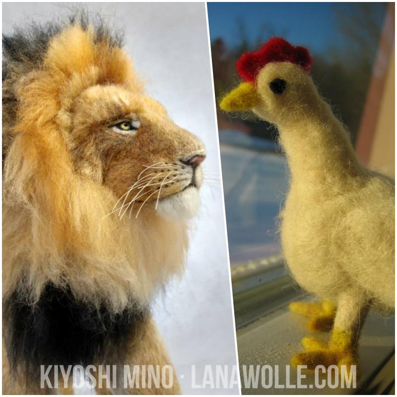 El Pollo y El León de Kiyoshi Mino Lanawolle.com