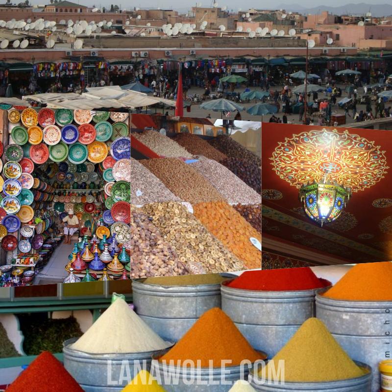 Marrakesh Marruecos Artesanía