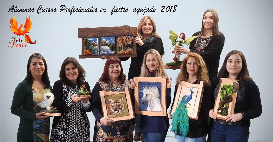 Revista LANA WOLLE. Escuela de manualidades Arte Fénix